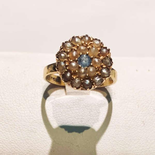 anello-oro-antico-perline-anni1950-gioielli-gioielleria-berluti