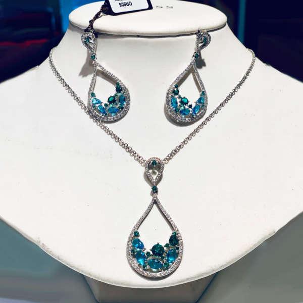 parure-boccadamo-orecchini-bracciale-argento-pietre-gioielleria-berluti